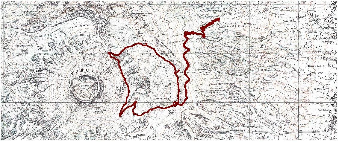 Stampa della mappa - IGM 25.000 - Campania2.ecw