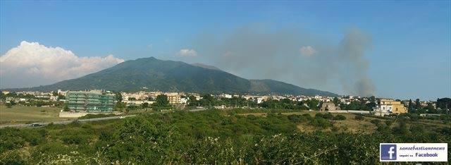 A fuoco la contrada castelluccio san sebastiano al - Agenzie immobiliari san sebastiano al vesuvio ...
