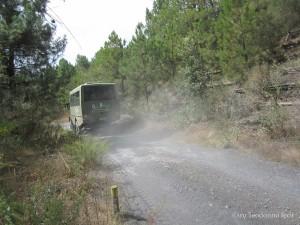 Automezzo 4x4 della Busvia