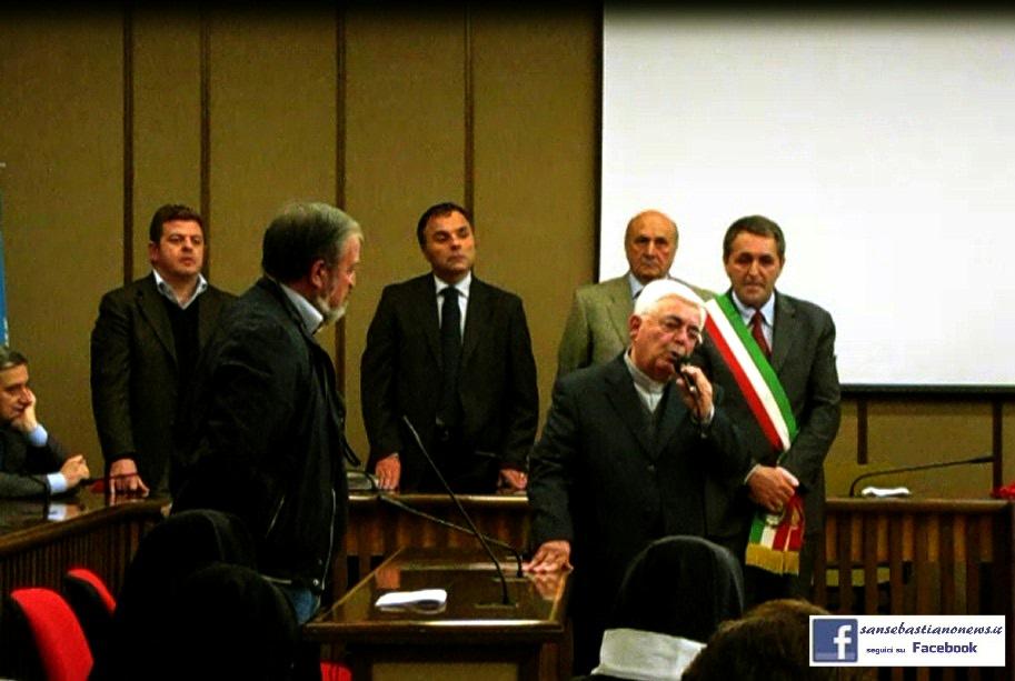 Cittadinanza onoraria-Padre Gaetano Borrelli