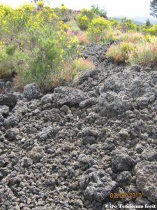 Sentiero di lava