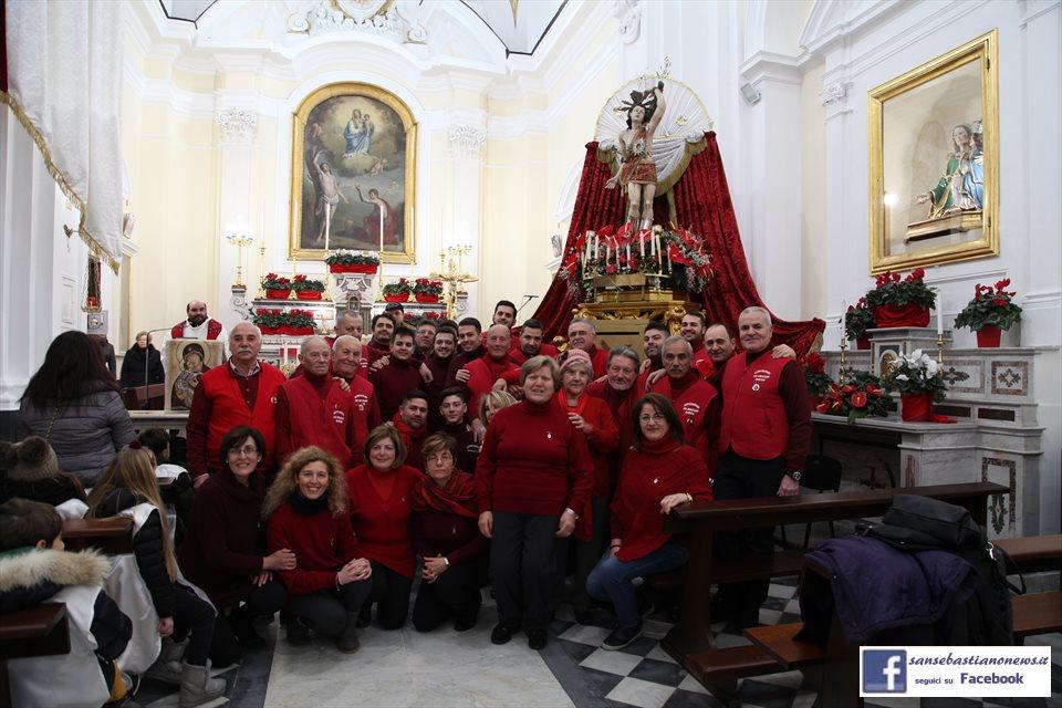 Processione di San Sebastiano - Portatori