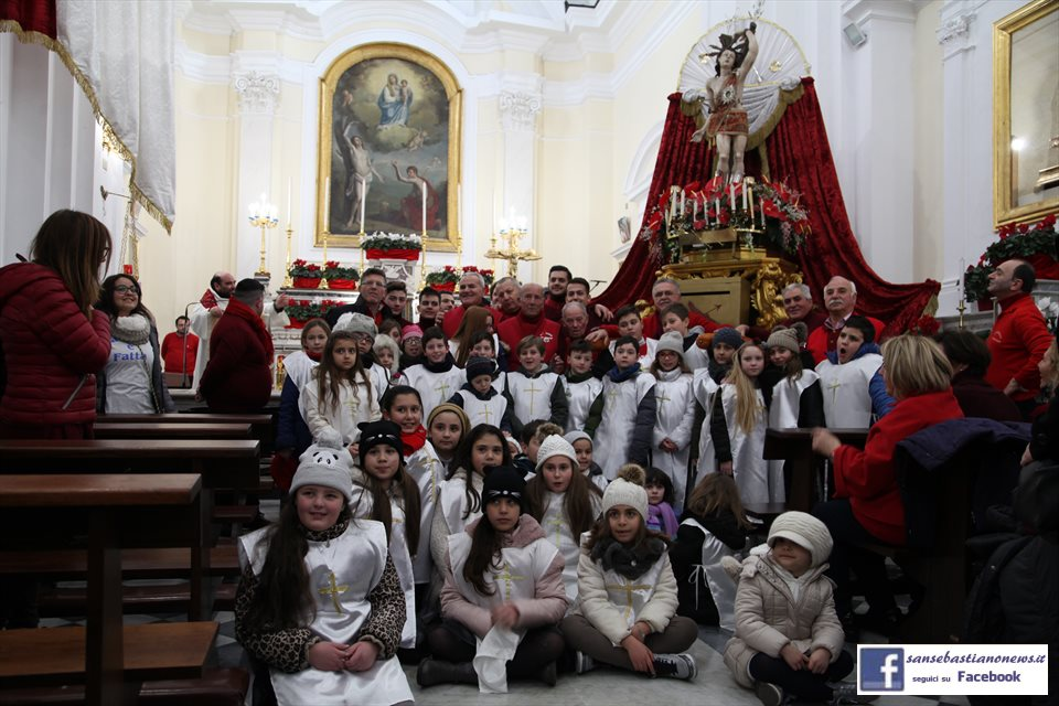 Processione di San Sebastiano - Gruppo bambini