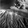 Vesuvio in piena eruzione.