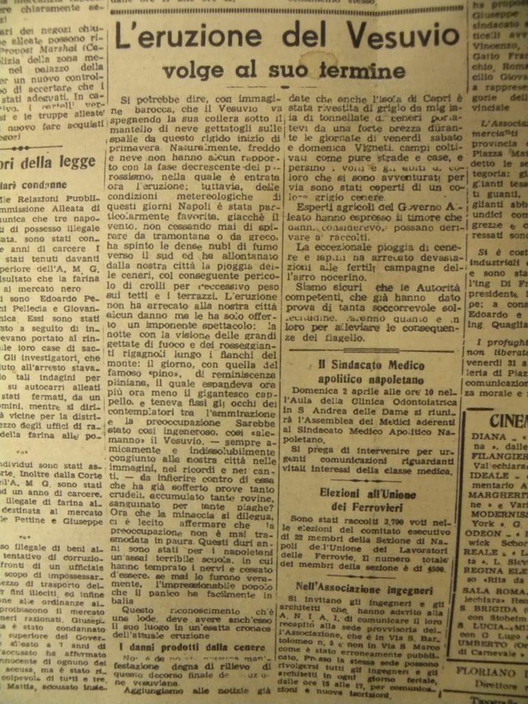 La pag. 4 de Il Risorgimento del 30/04/1944