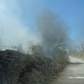 incendio contrada castelluccio